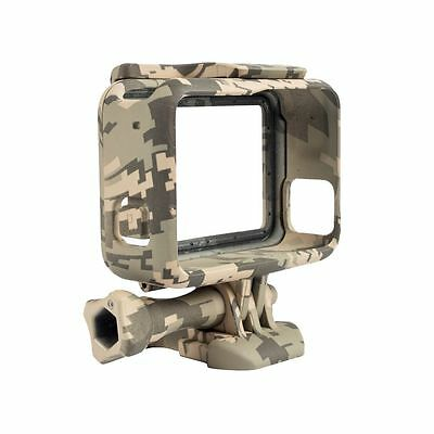 Protective Housing Case for GoPro Hero 5 Camouflage Standard Border Frame L2X8