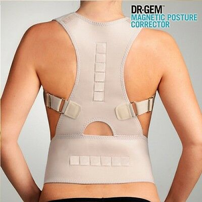 Dr Gem Magnetic Posture Corrector, Muscle Relax Back Support Jacket, Pain Relief