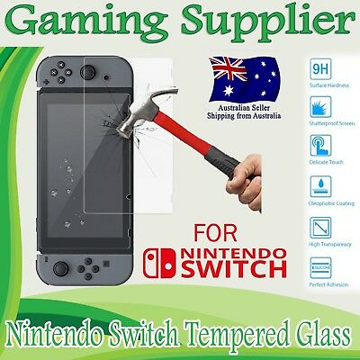 9H Premium Tempered Glass Screen Protector Guard Shield For Nintendo Switch
