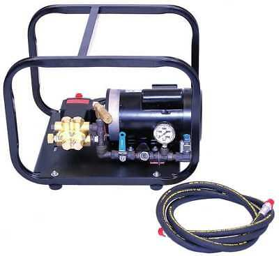 WHEELER-REX 33100 Test Pump, Electric, Triplex Plunger, 1 HP