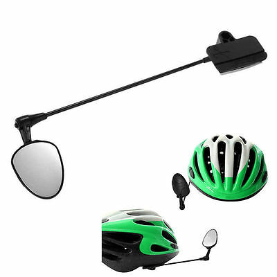 Bike Bicycle Cycling Helmet Mirror Rear View Rearview Safety Reflectors Sport