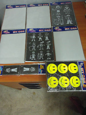 Bulk Wholesale Lot of 1000 My Car Family Stickers - New & Sealed