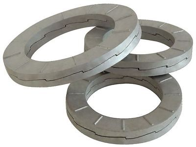 36mm x 55.8 mm OD Carbon Steel Delta Protect Finish Wedge Lock Washers, 25 pk.