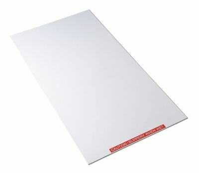 Tacky Mat Base,White,38 x 38 In CONDOR 6GRF9