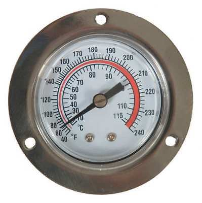 1EPE5 Analog Panel Mt Thermometer, 40 to 240F