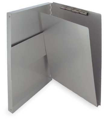 """8-1/2"""" x 14"""" Portable Storage Clipboard 3/8"""", Silver SAUNDERS 10519"""