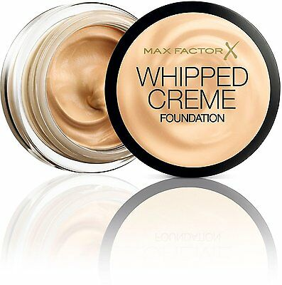 Max Factor Whipped Creme Foundation 18ml - Choose Your Shade