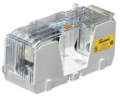 BUSSMANN RM25600-1CR Fuse Block,450 to 600 Amps,250MaxVolt,1P