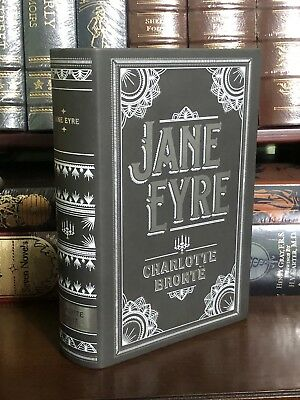 JANE EYRE by CHARLOTTE BRONTE Leatherbound Collectible BRAND NEW!