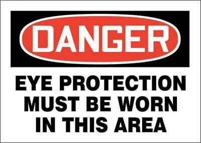 """Danger Sign, Accuform Signs, 219084-7X10P, 7""""Hx10""""W"""