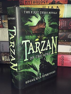 Tarzan Of The Apes- The First Three Novels by Edgar Rice Burroughs New Hardcover