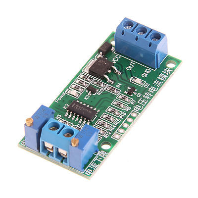 Voltage to Current Transmitter Signal Module 0-5V to 4-20mA Linear Conversion K9