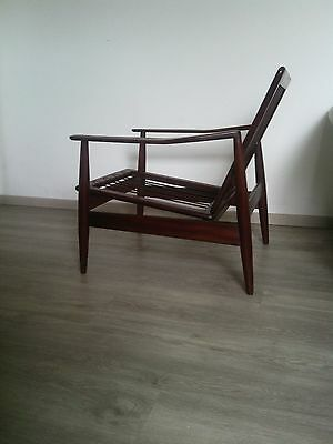 Arne Vodder ,Vintage Danish Teak Lounge Chair