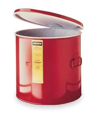 Wash Tank Can with Basket, Red ,Justrite, 27712