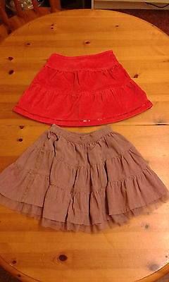 Next Girls Skirts, 2x. Size 18-24 months.