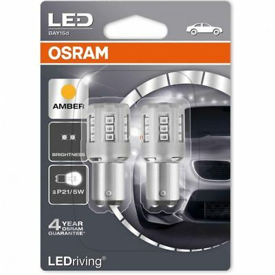 OSRAM LEDriving P21/5W 6000K Amber Indicator LED Car Lights 1457YE-02B DuoBox