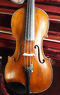 Really Old Violin Grafted Scroll In Great Shape Make An Offer