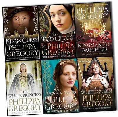 Philippa Gregory Cousins War Series 6 Books Collection Set The White Queen