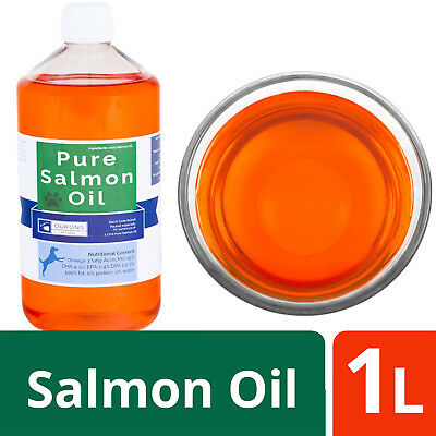 1 Litre Salmon Oil for Dogs 100% Pure