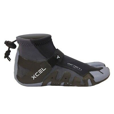Xcel 1mm Wetsuit Reef Boots Spilt Toe NEW Indo Booties Beach Surfing Shoes