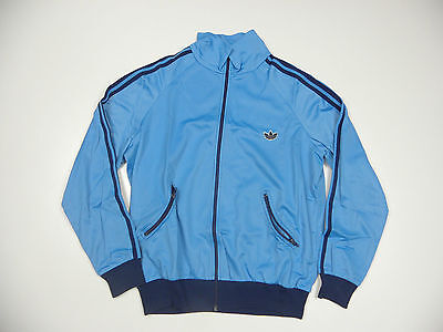 Adidas 1980s TT Tracktop Vintage Baby Blue