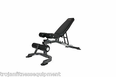 Exercise Bench FID Heavy Duty Flat SitUp Incline Decline