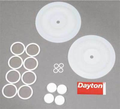 Pump Repair Kit,Fluid DAYTON 6PY62