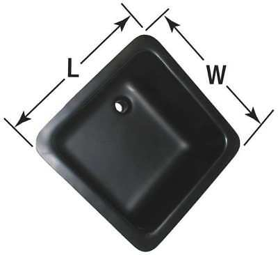 "Orion Laboratory Sink, Corrosion Resistant Black, Bowl Size 16"" x 16"", ARLS 13"