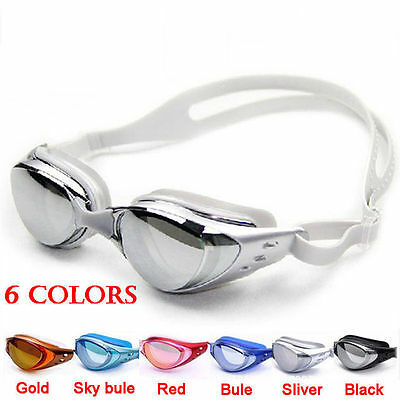 Anti-fog anti-ultraviolet swimming goggles men women adult swimming glasses