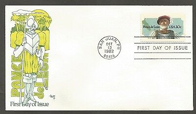Us Fdc 1982 Ponce De Leon 20C Stamp Marg Cachet First Day Of Issue Cover