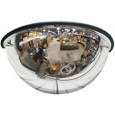 SEE ALL INDUSTRIES PV18-180GB Half Dome Mirror, 18In., Acrylic