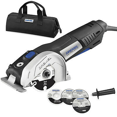 """7.5 Amp 4"""" Reconditioned Ultra-Saw Tool Kit Dremel US40-DR"""