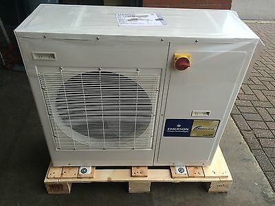 New 2Hp Copeland Zxle020E Housed Scroll Condensing Unit, R404A, R407F, 240V