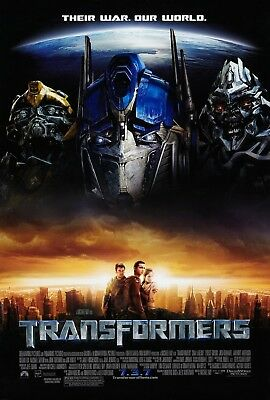 Transformers (2007) Original Movie Poster  -  Rolled  -  Double-Sided