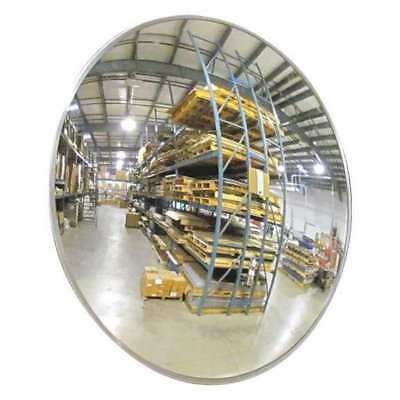 Indoor Convex Mirror,26 Dia,Acrylic ZORO SELECT 1CYX6