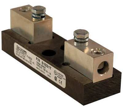 MERSEN 61031T Fuse Holder, 100A AC, 600V, 1 Pole, Molded