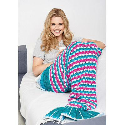 Crochet Your Own Mermaid Tail: Includes 800g Yarn Needles,Hook & Adult Pattern!