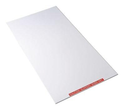 Tacky Mat Base,White,26 x 47 In CONDOR 6GRF3