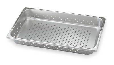 VOLLRATH 30013 Perforated Pan, Full-Size, 3.9 Qt