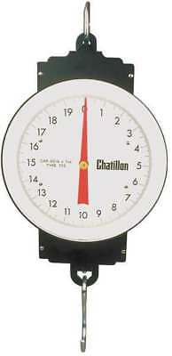 CHATILLON WH-050 Mechanical Hanging Scale,Dial,Steel