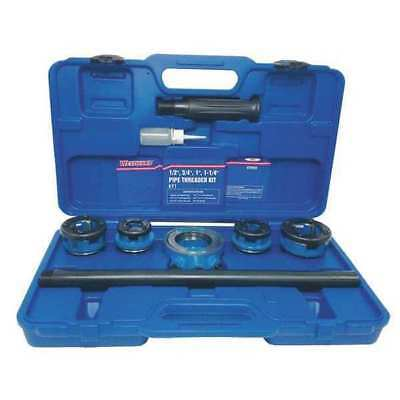 Manual Pipe Threading Kit,1/2 to 1-1/4In WESTWARD 4YR89