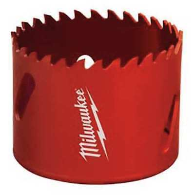 MILWAUKEE 49-56-3503 Carbide Hole Saw, Carbide Tipped, 3-1/2 In