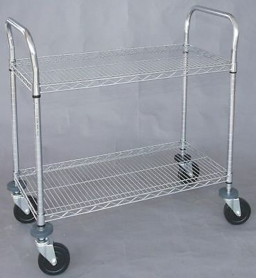 Wire High Cart,Heavy Duty,18x48x39 In ZORO SELECT 1ECJ3