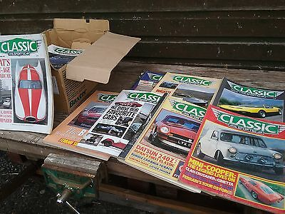 Classic and Sports Car Magazines,  Lot.