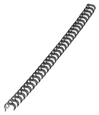 3:1 Wire Binding Spine, Black ,Sircle, 9003831B