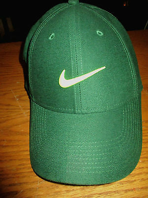 NIKE GREEN SPORT LEGACY 91 NEON GREEN SWOOSH UNISEX BALL CAP HAT New no Tag