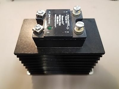 Power IO HDD-06V75 Solid State Relay 75A 0-60 VDC