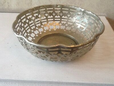 Vintage Silver Plated Decorative Bowl