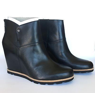 b9dc11fc6c3 UGG Australia AMAL BLACK LEATHER SHEEPSKIN 3