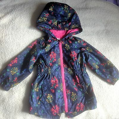 Matalan - Summer Lightweight - Floral Shower Jacket  Age 12/18 Months - VGC